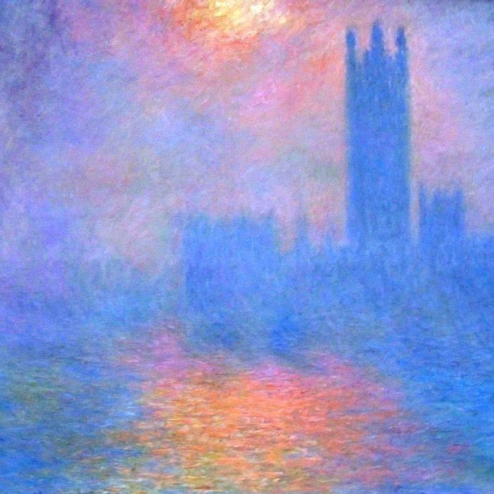 Londres sous le pinceau de Monet