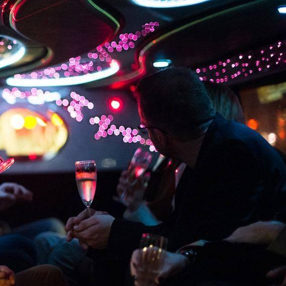 Londres en limousine