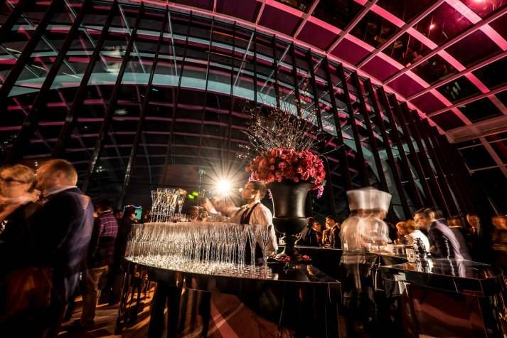 sky-garden-at-night-bespoke-events-london-incognito-cocktail-reception