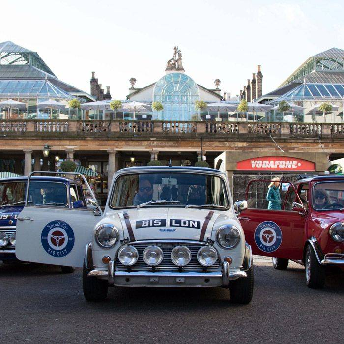 Swinging London by mini !