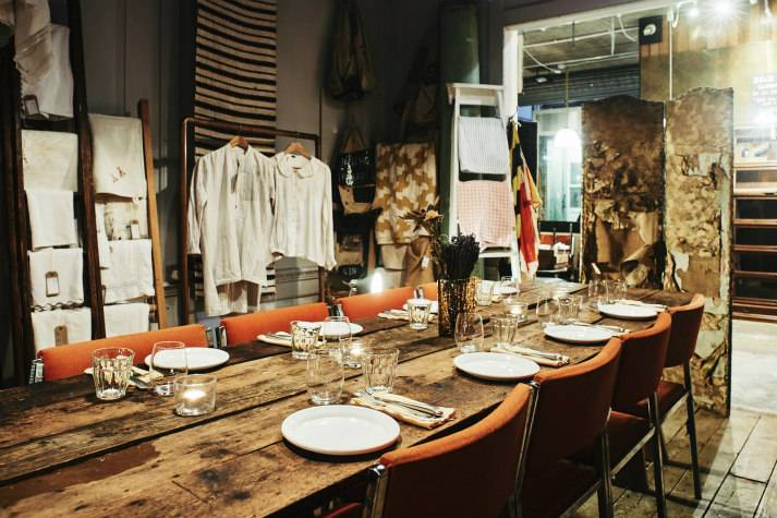 Textile Room at LASSCO London for private events