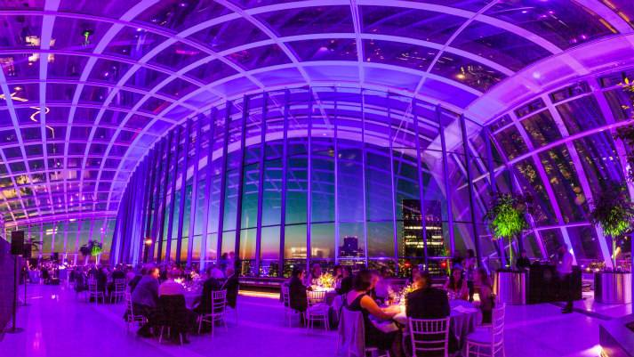 sky-garden-at-night-bespoke-events-london-incognito-purple-lighting