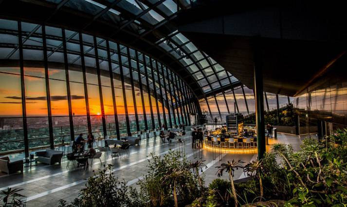 sky-garden-at-night-bespoke-events-london-incognito-sunset-time